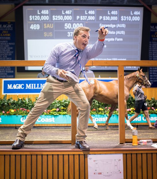 Magic Millions Gold Coast Yearling Sale 2021