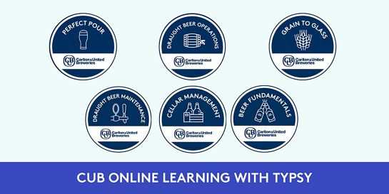 CUB Online Learning with Typsy