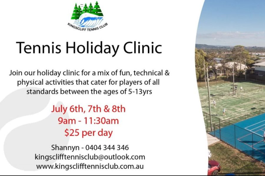 Tennis Holiday Clinic