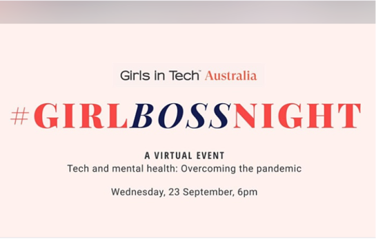 Girl Boss Night (Virtual): Tech and mental health