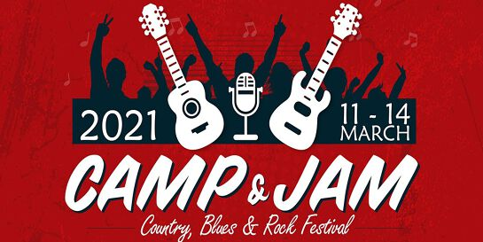 Camp and Jam - Blues, Country and Rock Concert 2021