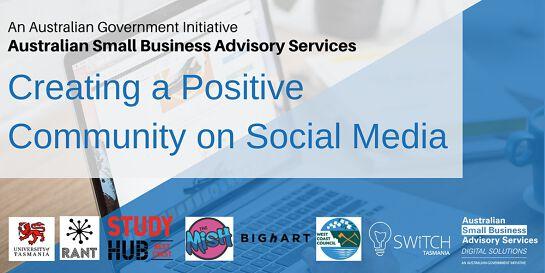 Creating a Positive Community on Social Media