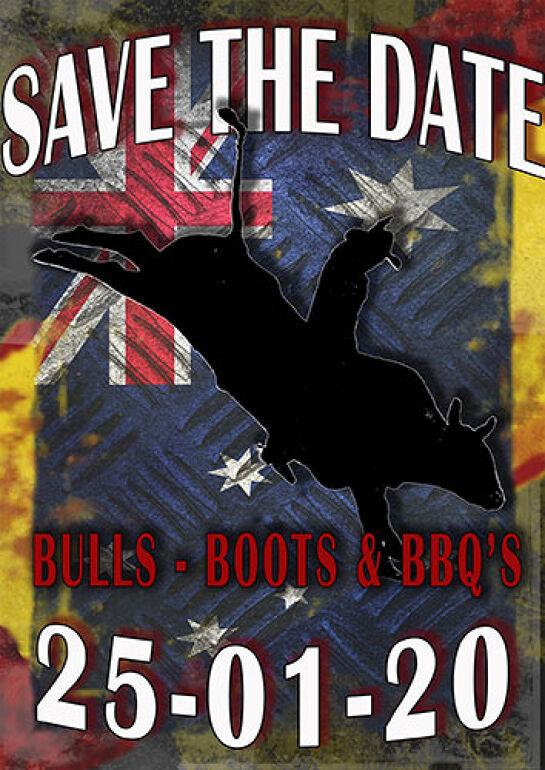 Bulls - Boots and BBQ's (Sat 23 Jan)
