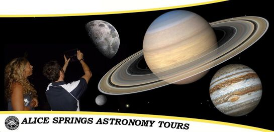 Alice Springs Astronomy Tours   Thursday October 01 : Showtime 7:00 PM