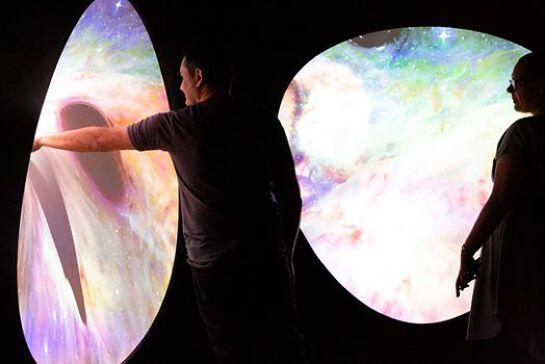 Beyond Perception physics and astronomy teacher workshop
