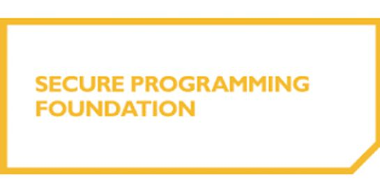 Secure Programming Foundation 2 Days Virtual Live Training in Melbourne