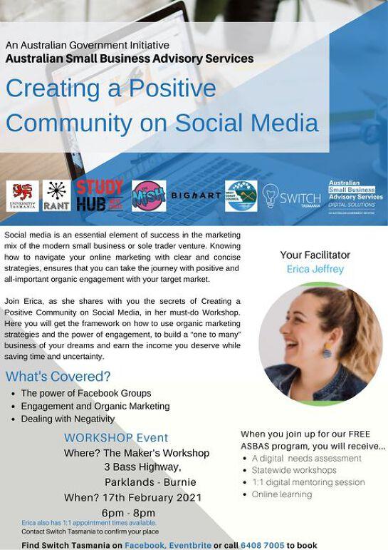 Creating a Positive Social Media Community