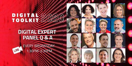 Digital Toolkit 2020: Digital Expert Panel Q&A