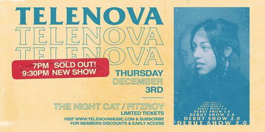 Telenova Debut Show - Second Show Added
