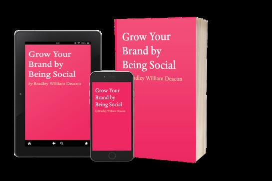 Sneak Peek 'Grow Your Brand By Being Social' & Self-Publishing