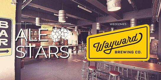Ale Stars #134 - Wayward Brewing Co.