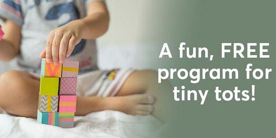 Tiny Tots - Making Rainbows - Wednesdays