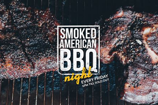 Smoked American BBQ & Craft Beer night