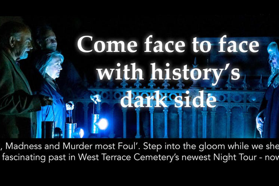 'Mavericks, Madness and Murder Most Foul!' - West Terrace Cemetery by Night Tour