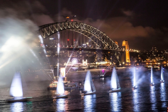Australia Day Fireworks Dinner Cruise Vagabond Spirit