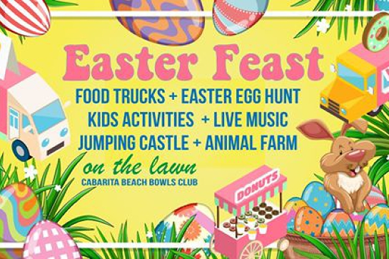 Easter Egg Hunt and Food Truck Feast