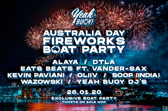 Yeah Buoy - Australia Day Fireworks - Boat Party