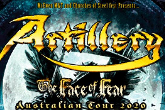 Artillery - The Face of Fear Australian Tour