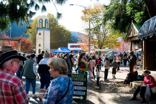 Bright Autumn Festival Gala Day Rotary Market