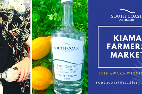 South Coast Distillery @ Kiama Farmers'  Market