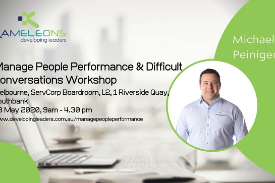 Manage People Performance & Difficult Conversations