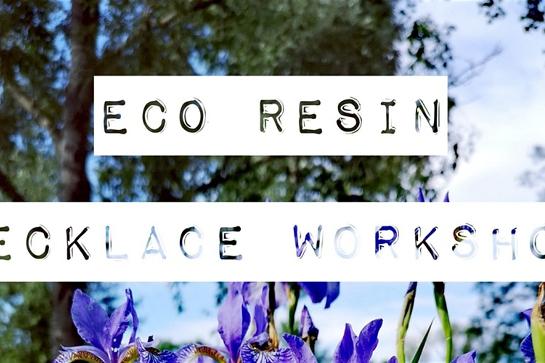 Eco Resin Botanical Crystal Inspired Necklace Workshop