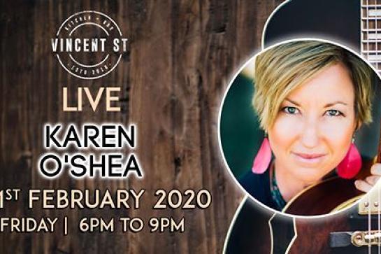 Karen O'Shea - LIVE
