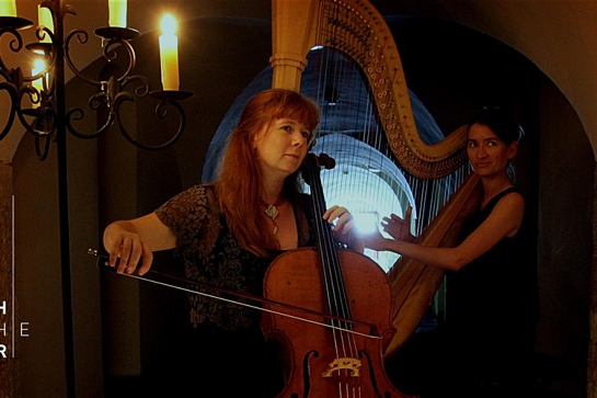 Bach in the Dark – Cello and Harp – 2020 series
