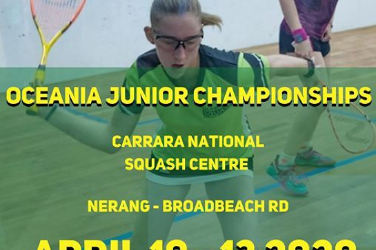 Oceania Junior Championships | April 10-13