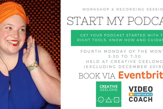 Start My Podcast: Workshop & Recording Session