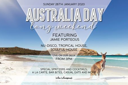 Australia Day at Miss Moneypenny's