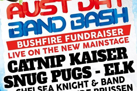 Aust Day Band Bash Bush Fire Fundraiser
