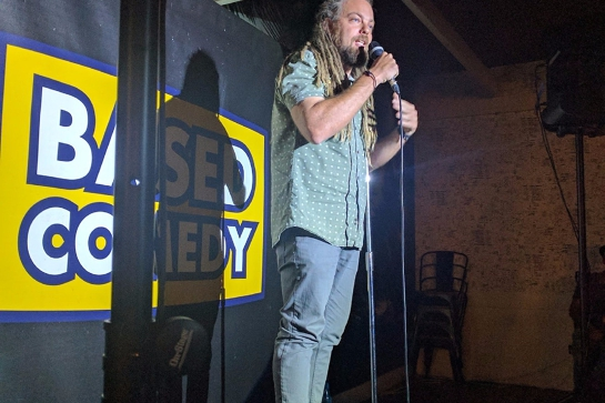 Based Comedy at The Palm Beach Hotel