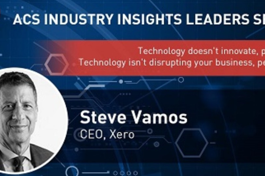 ACS Industry Insights Leaders Series: Technology doesn't innovate - people do! Technology isn't disrupting your business, peo