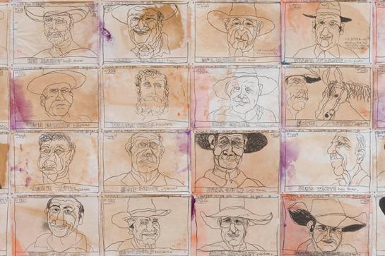 Robert MacPherson Boss Drovers – QAGOMA Touring Exhibition