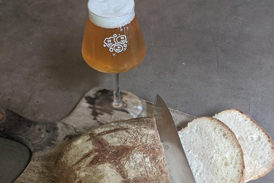 Smoked Beer Bread Saturdays