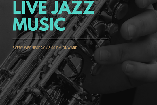 Live Jazz Every Wednesday!