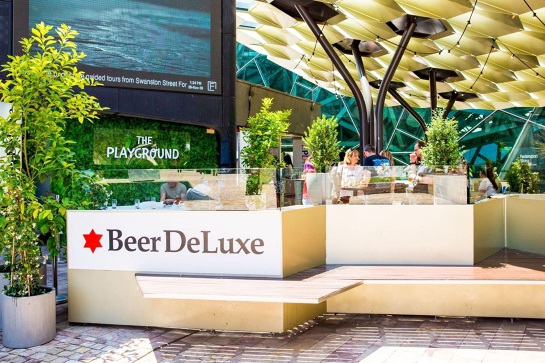 Meetup - Beer Deluxe!  Extended Happy Hour just for the commandos