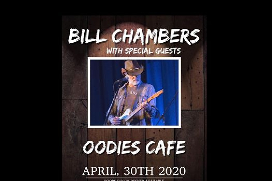 Bil Chambers live at Oodies Cafe
