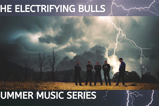 AUSTRALIA DAY - THE ELECTRIFYING BULLS -Live on the Deck