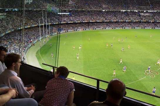 Private Suite - Western Bulldogs v Fremantle, Round 17