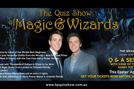 THE QUIZ SHOW OF MAGIC & WIZARDS - MELBOURNE