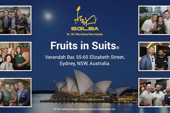 Fruits in Suits an SGLBA Event