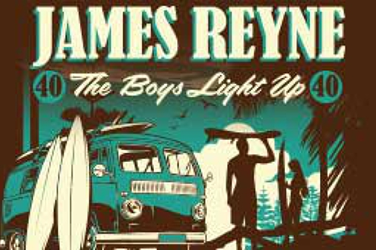 James Reyne Boys Light Up 40th Anniversary Tour