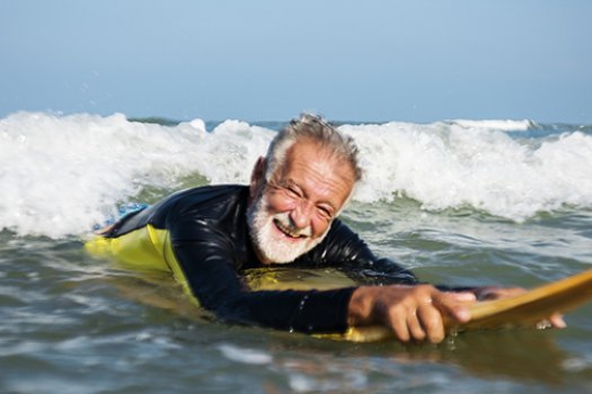 Odyssey Senior Surfing Day