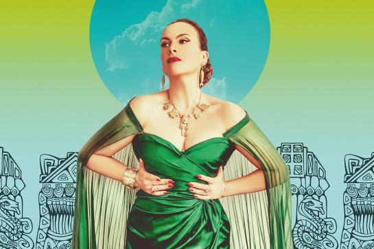 Ali McGregor is Yma Sumac: The Peruvian Songbird