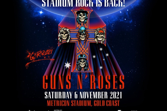 Guns N' Roses live on the Gold Coast