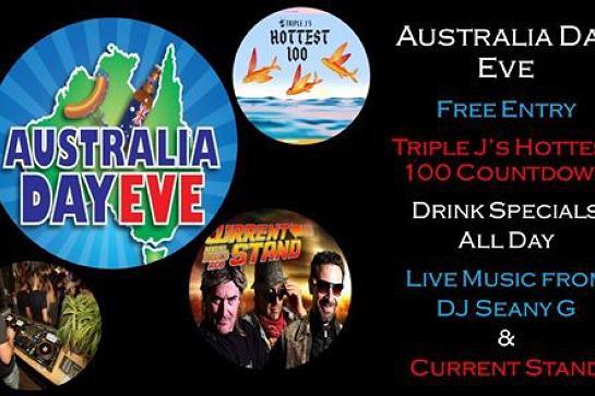 Aussie's Australia Day Eve - Saturday 25th of January