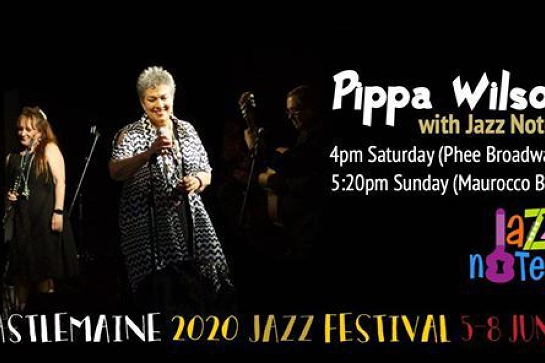 Pippa Wilson with Jazz Notes - 2020 Castlemaine Jazz Festival