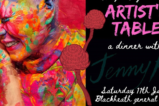 'Artists Table' dinner with Jenny Kee